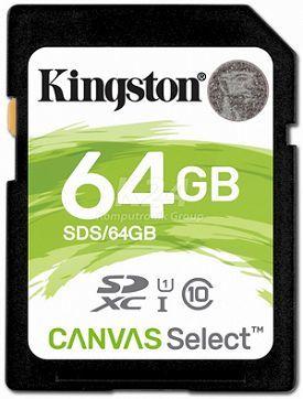 Kingston SDXC Canvas Select 64 GB UHS-I