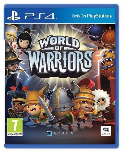 SONY World of Warriors, PS4 hra_01