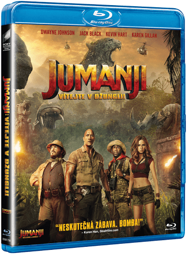 Jumanji: Vítejte v džungli, BD film_01