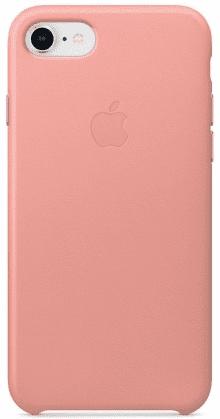 Apple kožené puzdro pre iPhone 7/8, ružová