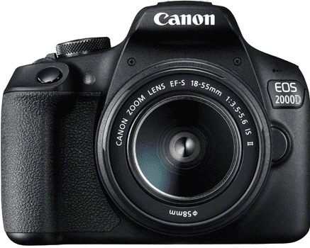 CANON 2000D18-55IS,E10, Zrkadlovka