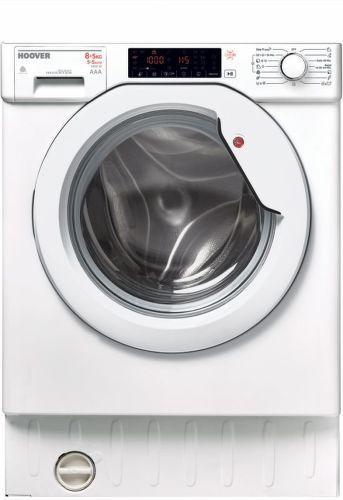 HOOVER HBWDO 8514THC-S, Vstavaná práčka so sušičkou
