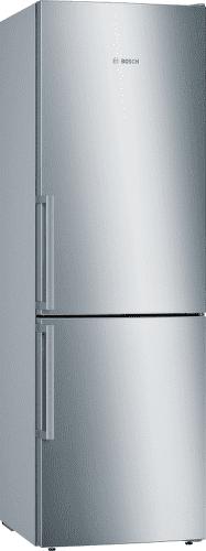 BOSCH KGE366L4P, nerezová kombinovaná chladnička