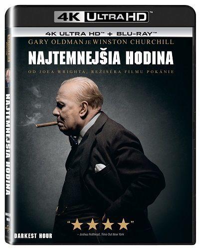Najtemnejšia hodina - Blu-ray + 4K UHD film