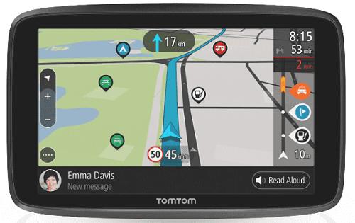 TOMTOM GO CAMPER WORLD, GPS navigácia