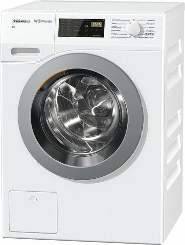 Miele WDB 030 WCS, biela práčka plnená spredu