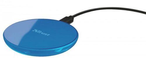 Trust Primo 10 bezdrôtová nabíjačka, modrá
