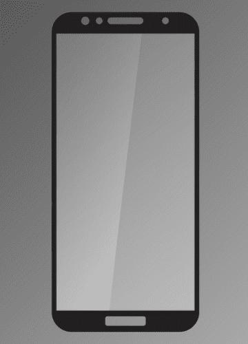 Qsklo ochranné sklo pre Huawei Y6 2018, čierna