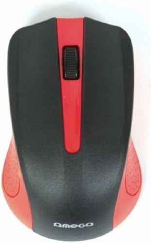 OMEGA OM-419 RED, WL myš + podložka