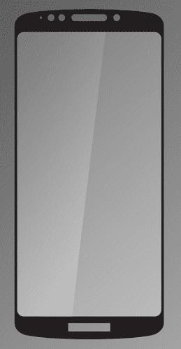 Q sklo pre Motorola Moto E5, čierna