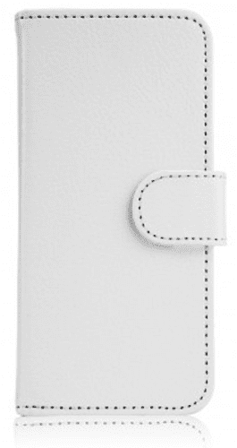 XQISIT Slim Wallet puzdro pre iPhone SE/5S/5, biela
