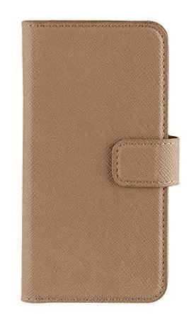 XQISIT Wallet Viksan puzdro pre iPhone 8/7/6S/6, hnedé
