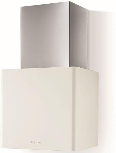 Faber LITHOS WH MATT A45, matne biely komínový digestor