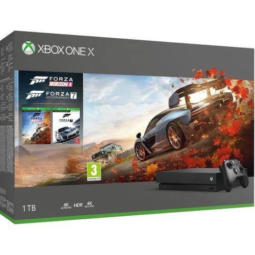 Microsoft Xbox One X 1TB + FH 4 + FM 7