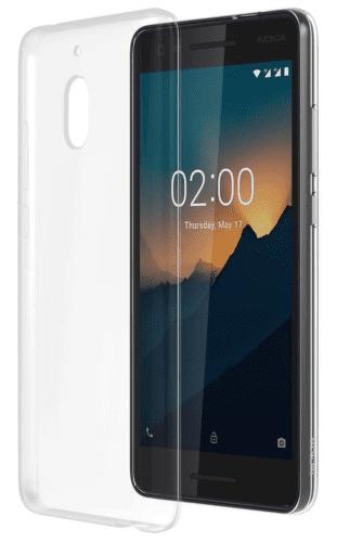 NOKIA Slim Crystal CC-120 puzdro pre Nokia 2.1, transparentná