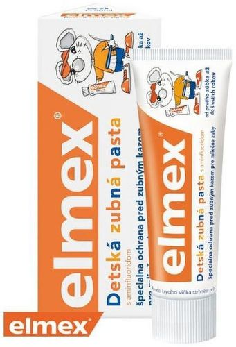 Elmex Detská 50ml, Zubná pasta