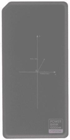 Remax Proda PPP-33 powerbanka, sivá