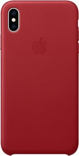 Apple kožené puzdro pre Apple iPhone XS Max, (PRODUCT)RED
