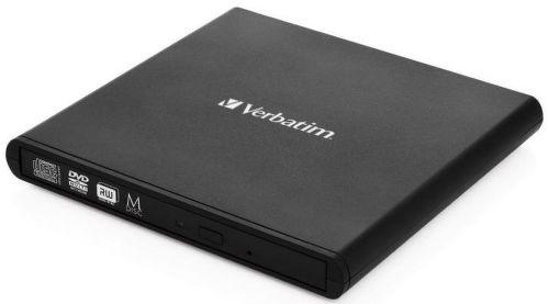 Verbatim 53504 Slimline CD/DVD čierna