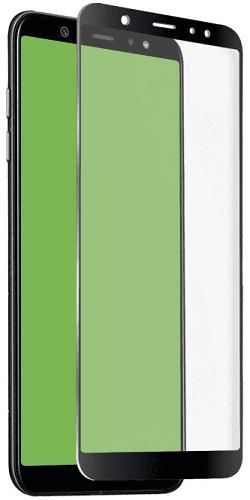 SBS 4D tvrdené sklo pre Samsung Galaxy A6 s aplikátorom, čierna