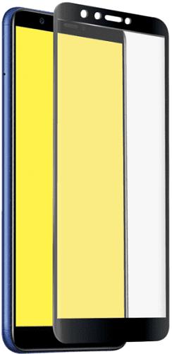 SBS Full Cover tvrdené sklo pre Motorola Moto G6 Play, čierna