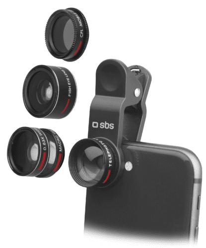 SBS 5v1 fotografické šošovky na smartfón