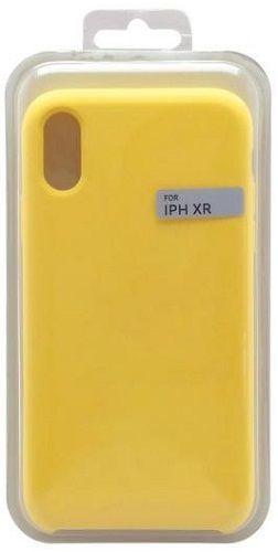 Mobilnet silikónové puzdro pre Apple iPhone, žltá