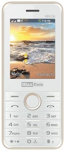 Maxcom MM136 Dual SIM zlatý