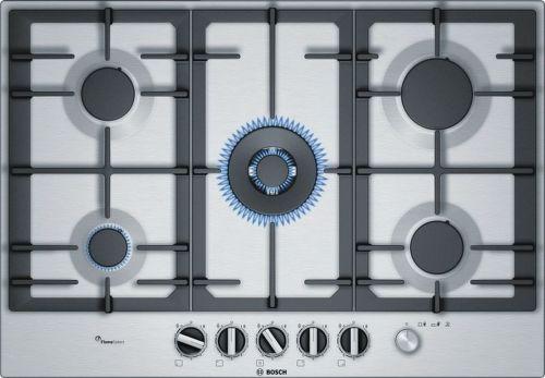 Bosch PCQ7A5M90 nerezová plynová varná doska