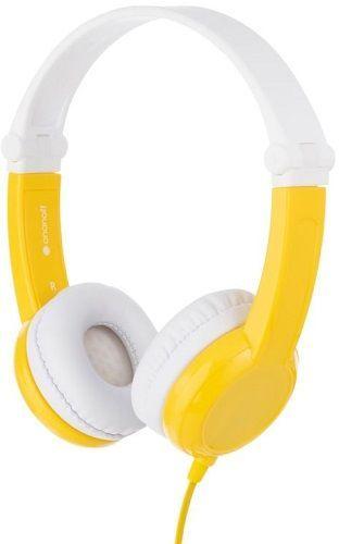 BuddyPhones Connect žlté detské slúchadlá  a55f24d5a6f