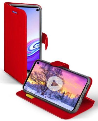SBS Book Sense puzdro pre Samsung Galaxy S10e, červená