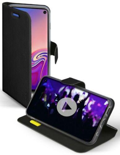 SBS Book Sense puzdro pre Samsung Galaxy S10, čierna