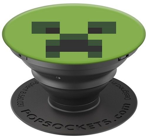 Popsocket držiak na smartfón, Minecraft Creeper