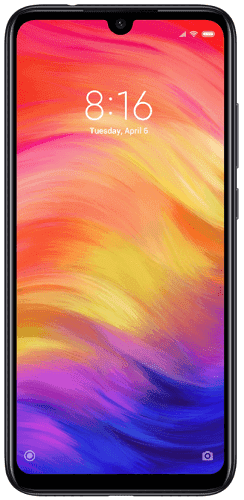 Xiaomi Redmi Note7 64 GB čierny