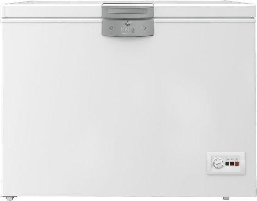 BEKO HSA24531, biela truhlicová mraznička