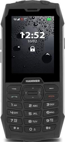 MyPhone Hammer 4 strieborný