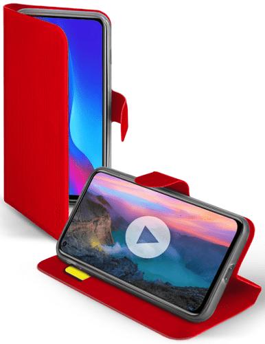 SBS Book Sense puzdro pre Huawei P30 Pro, červená