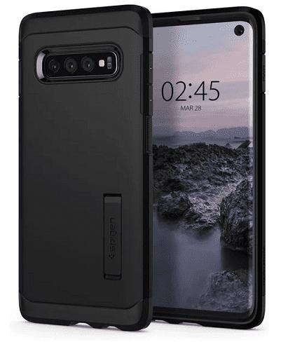 Spigen Tough Armor puzdro pre Samsung Galaxy S10, čierna