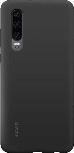 Huawei silikónové puzdro pre Huawei P30, čierna