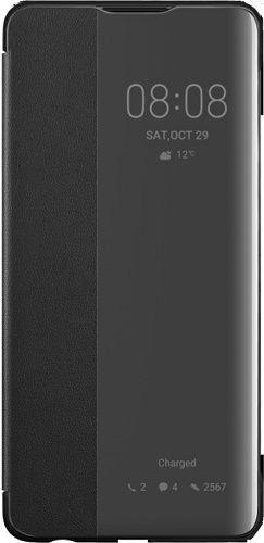 Huawei Smart View knižkové puzdro pre Huawei P30, čierna