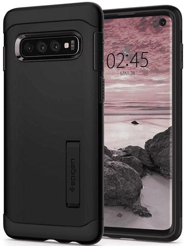 Spigen Slim Armor puzdro pre Samsung Galaxy S10, čierna