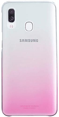 Samsung Gradation Cover zadný kryt pre Samsung Galaxy A40, ružová
