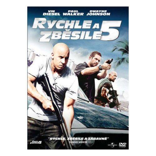 DVD F - RYCHLE A ZBESILE 5