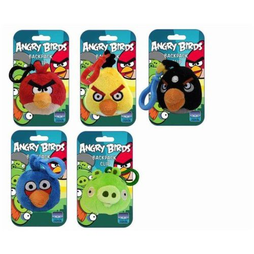 Angry Birds Backpack clipq