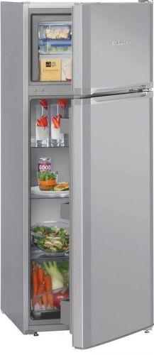LIEBHERR CTPsl 2541, strieborná kombinovaná chladnička