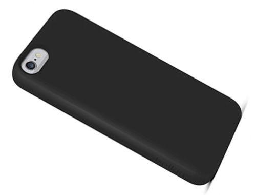 MOBILNET slim plastové púzdro pre iPhone 6 (čierne)