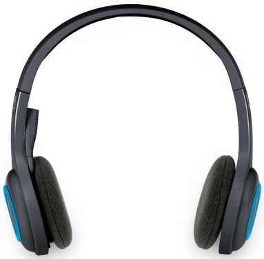 Logitech Wireless Headset H600 - sluchátka s mikrofonem