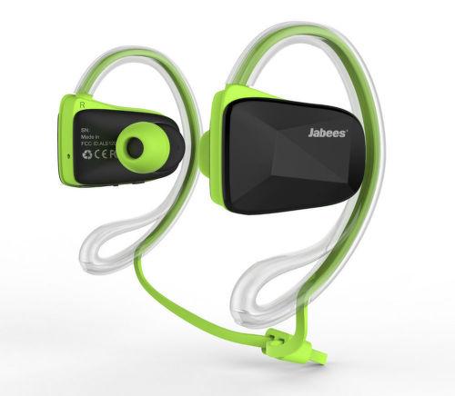 Jabees Bluetooth Sport (zelené)