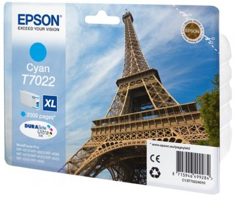 EPSON T70224010 CYAN XL cartridge