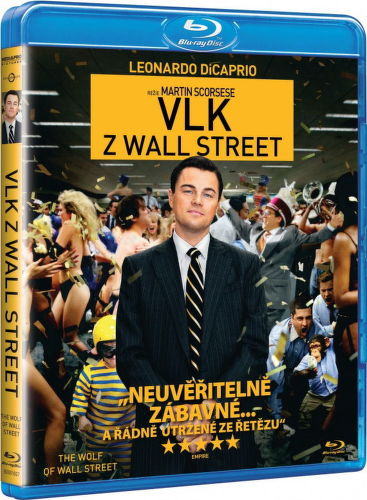 Vlk z Wallstreet - Blu-ray film